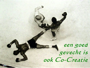 Bedrijfstraining co-creatie in de ring