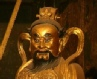 Taoist golden statue China