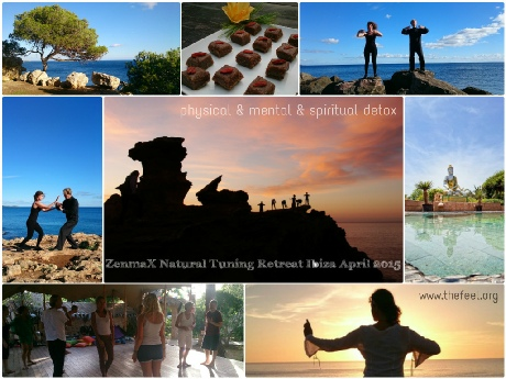 ZenmaX Natural Tuning retreats Ibiza
